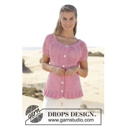 Desert Rose Jacket by DROPS Design S-XXXL DROPS PARIS