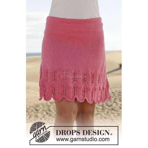 Raspberry Salsa by DROPS Design S-XXXL DROPS COTTON MERINO