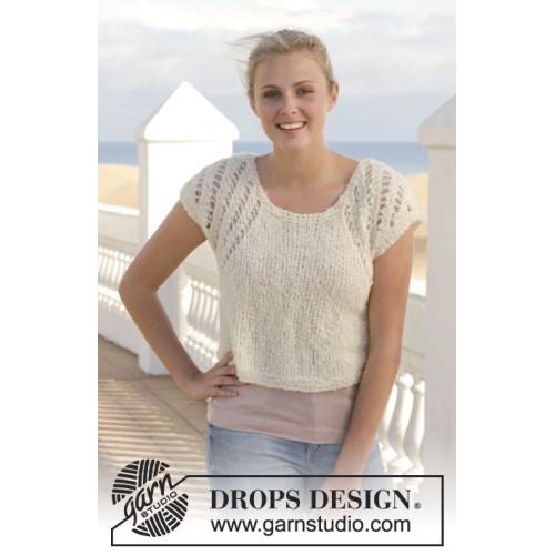 Sofie by DROPS Design S-XXXL DROPS ALPACA BOUCLÉ