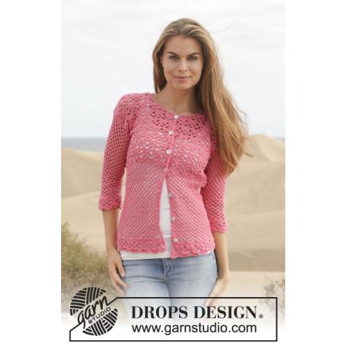 Summer Blush by DROPS Design S-XXXL DROPS COTTON MERINO
