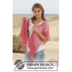 Image of   Song for susan by drops design one-size drops cotton merino garn