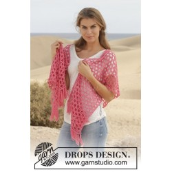 Song for Susan by DROPS Design One-size DROPS COTTON MERINO