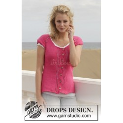Framboise by DROPS Design S-XXXL DROPS COTTON LIGHT