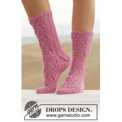 Think Pink by DROPS Design 35-43 DROPS FABEL