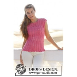 Audrey by DROPS Design S-XXXL DROPS COTTON MERINO