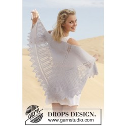 Butterfly Dance by DROPS Design One-size DROPS ALPACA