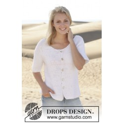 Summer Lights Cardigan by DROPS Design S-XXXL DROPS PARIS
