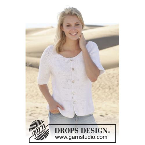 Summer Lights Cardigan by DROPS Design S-XXXL DROPS PARIS