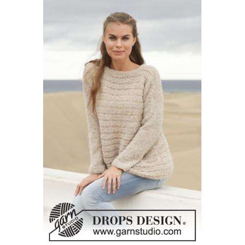 Sandy by DROPS Design S-XXXL DROPS ALPACA BOUCLÉ