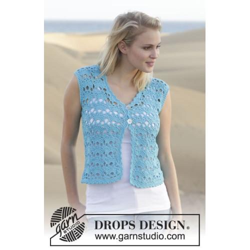 Delphine by DROPS Design S-XXXL DROPS MUSKAT