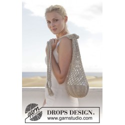 On the beach by drops design one-size drops bomull-lin garn drops