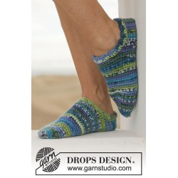 Jump for joy by drops design 35-44 drops big fabel garn strømper og