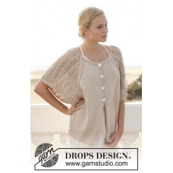 Image of   Florentina jacket by drops design s-xxxl drops muskat garn cardigan