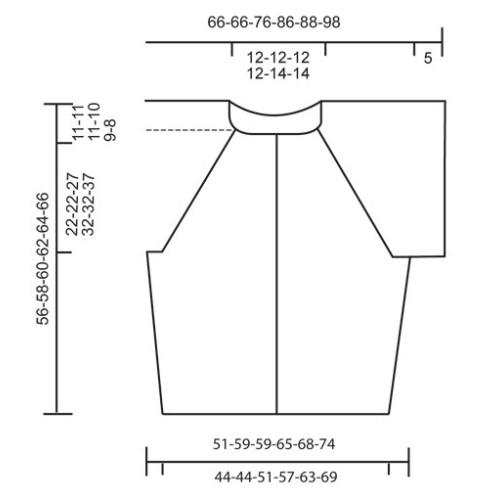 Florentina Jacket by DROPS Design S-XXXL DROPS MUSKAT