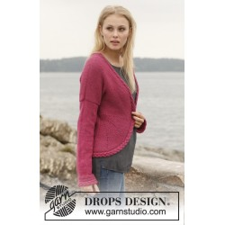 Image of   Ruby turns by drops design s-xxxl drops alpaca garn strikkekits