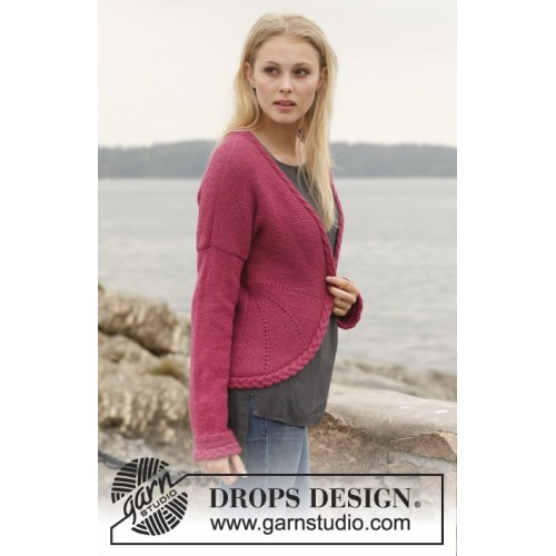 Ruby Turns by DROPS Design S-XXXL DROPS ALPACA