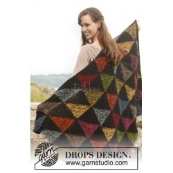 Harlequin by DROPS Design One-size DROPS ALPACA