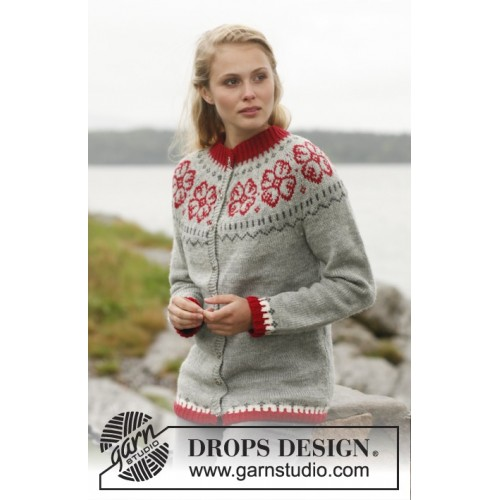 Winter Rose by DROPS Design S-XXXL DROPS KARISMA