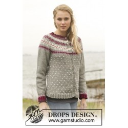 September Jacket by DROPS Design S-XXXL DROPS LIMA