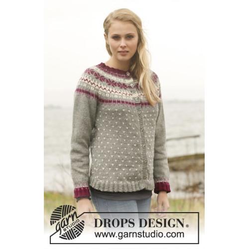 September Jacket by DROPS Design S-XXXL DROPS LIMA