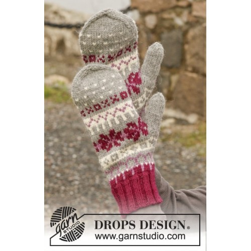 September Gloves by DROPS Design One-size DROPS LIMA