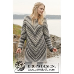 Haze Tunica by DROPS Design S-XXXL DROPS BIG DELIGHT