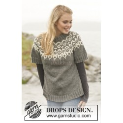 Arctic Circle Sweater by DROPS Design S-XXXL DROPS NEPAL