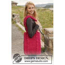 Fruit punch by drops design one-size drops eskimo garn drops 150 kit