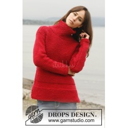 Lighthouse by DROPS Design S-XXXL DROPS ESKIMO