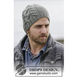 Finnley's Hat by DROPS Design S-M DROPS LIMA