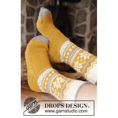 Chicken legs by DROPS Design 35-46 DROPS KARISMA