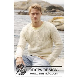Drops extra 0-851 by drops design s-xxxl drops lima garn bluse