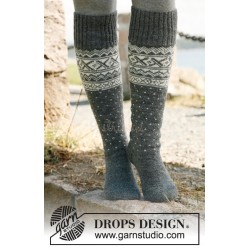 Snowfall by DROPS Design 35-43 DROPS FABEL