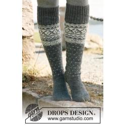 Snowfall by DROPS Design 35-43 DROPS FABEL