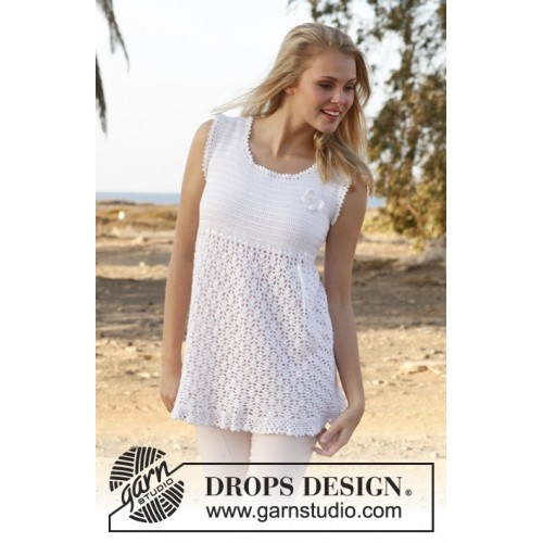 Yasmin by DROPS Design S-XXXL DROPS COTTON VISCOSE