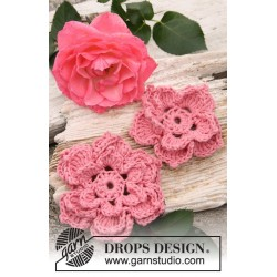 Rosa by DROPS Design One-size DROPS SAFRAN