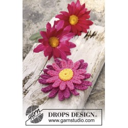 Dahlia by DROPS Design One-size DROPS SAFRAN