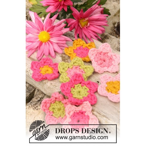Summer in Bloom by DROPS Design One-size DROPS PARIS