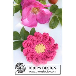 Rosehip by DROPS Design One-size DROPS MUSKAT