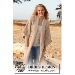 Image of   Long nights by drops design s-xxxl drops lima garn strikkekits