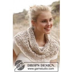 Billede af Warm shore by drops design s-xxxl drops cotton light garn tørklæder,