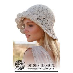Dune hat by DROPS Design S-XL DROPS MUSKAT
