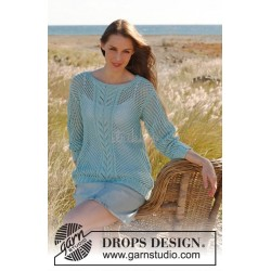 Shell by DROPS Design S-XXXL DROPS COTTON LIGHT