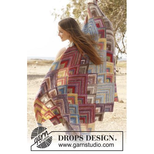 Moroccan colors by DROPS Design ca 100 x 150 cm DROPS FABEL