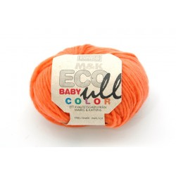 M&k eco baby ull color orange, 177 uldgarn