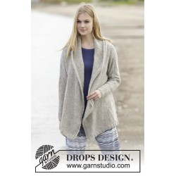 Image of   Morning hug by drops design s-xxxl drops melody garn strikkekits