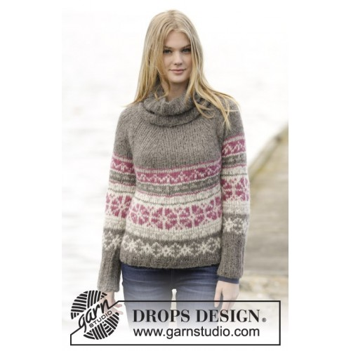 6eb40338a494 Sweet Winter by DROPS Design S-XXXL DROPS MELODY