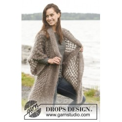 Sheer Bliss by DROPS Design S-XXXL DROPS MELODY