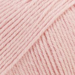 Drops Cotton Merino UNI farve 05 støvet rosa