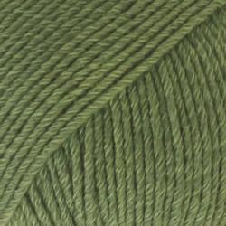Drops Cotton Merino UNI farve 11 skovgrøn